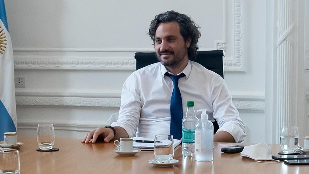 El evento cuenta con la presencia del jefe de Gabinete, Santiago Cafiero