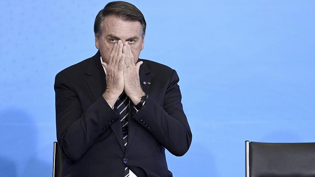 Bolsonaro ha demostrado pocos cuidados ante la Covid.