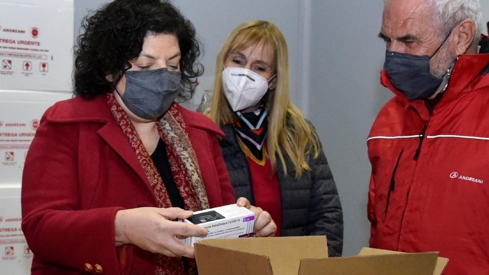 Carla Vizzotti continúa al frente del Ministerio de Salud. (foto archivo).