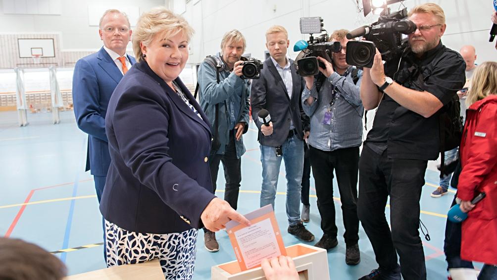 Ema Solberg, la premier conservadora desde 2013 deja de liderar el Gobierno tras estos resultados