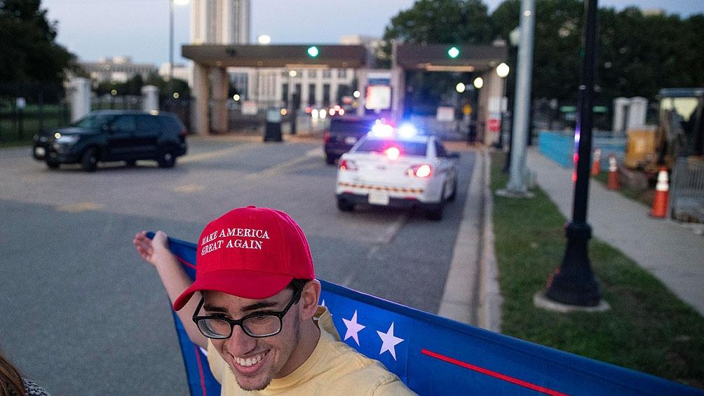 La propia oposición republicana se distanció de la protesta de este sábado.